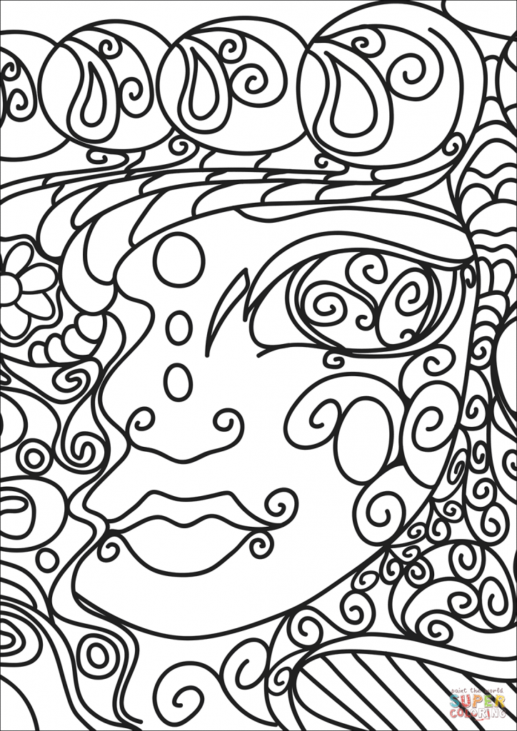 Abstract Coloring Pages Art