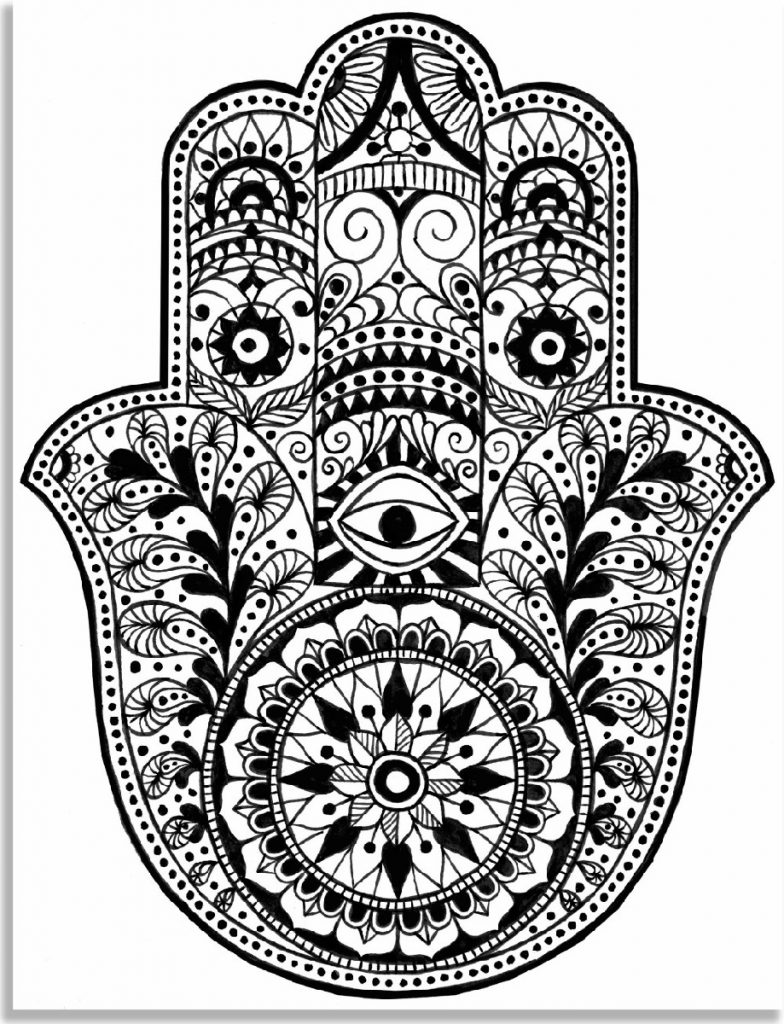 Adult Coloring Books Mandala