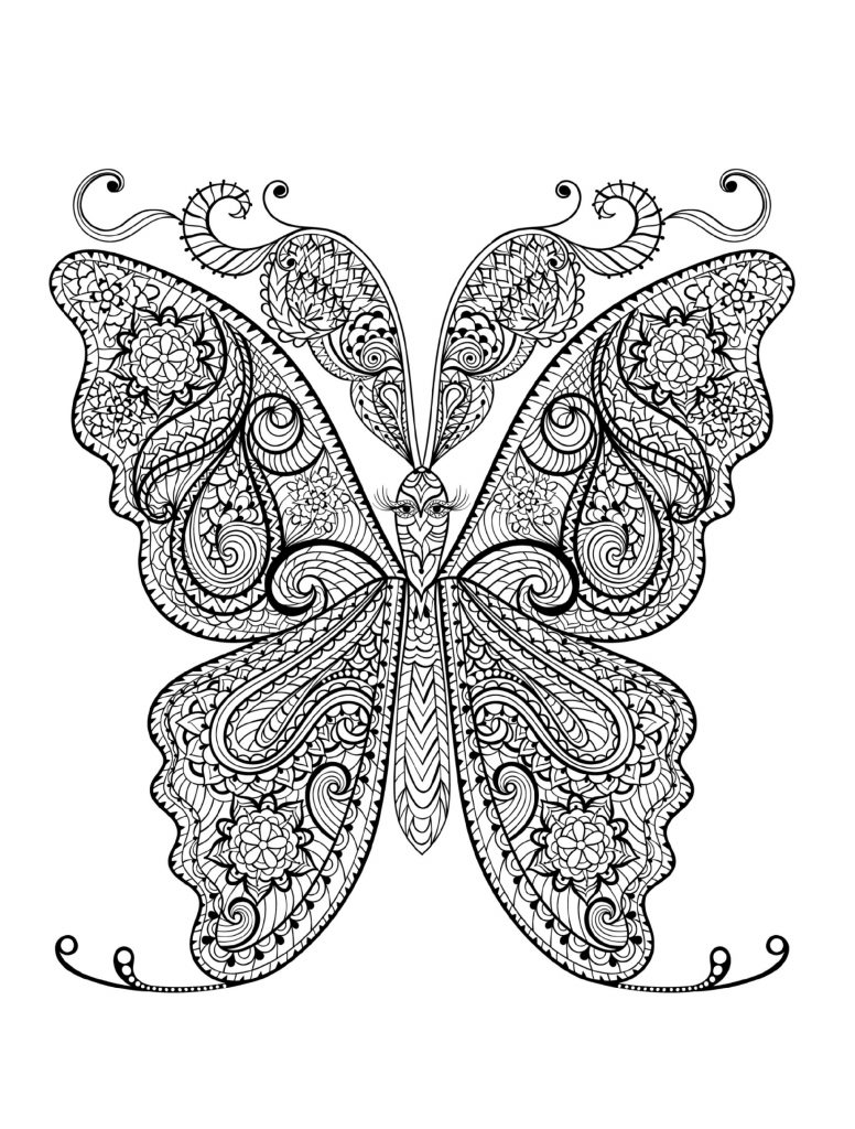 Adult Coloring Pages Animal