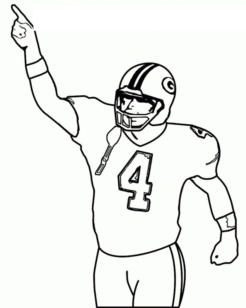 American Football Coloring Pages