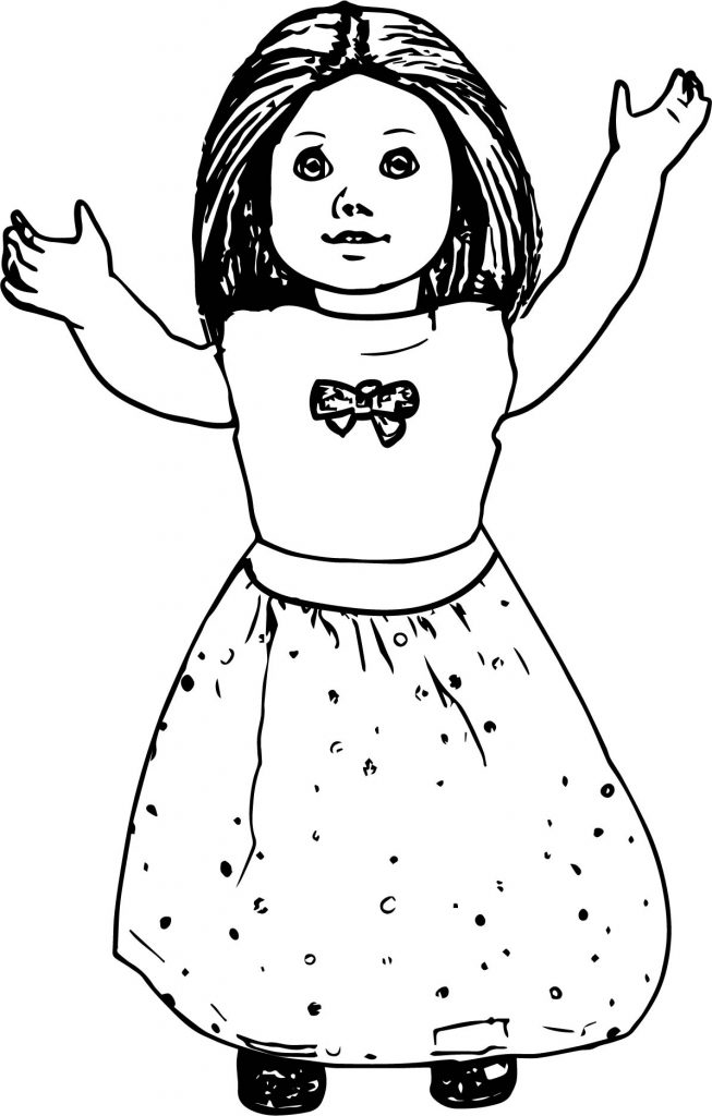- American Girl Doll Coloring Pages To Print 101 Coloring
