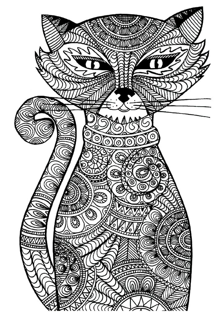 Animal Coloring Sheets Pattern
