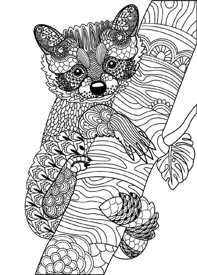 Animal Mandala Coloring Pages Fun