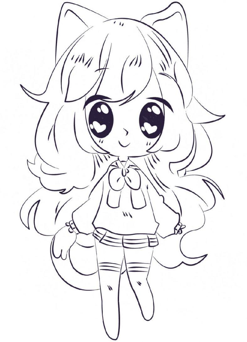 Anime Coloring Kawaii