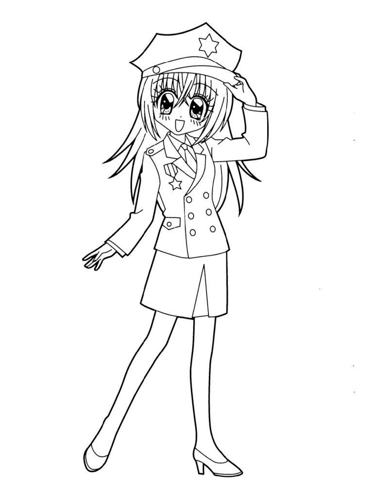 Anime Coloring School