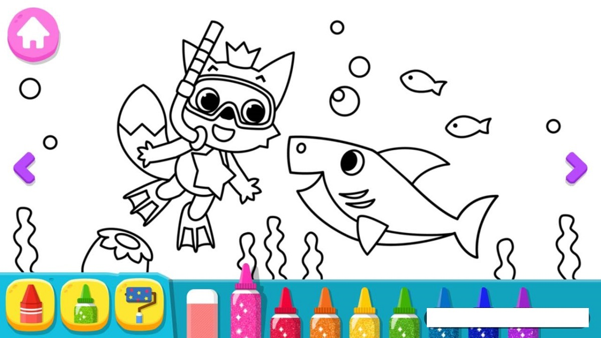 Baby Shark Coloring Pages Printable | 101 Coloring