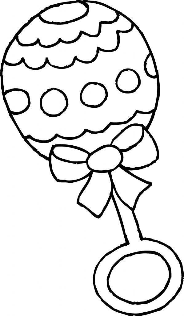 Baby Shower Coloring Pages Clipart