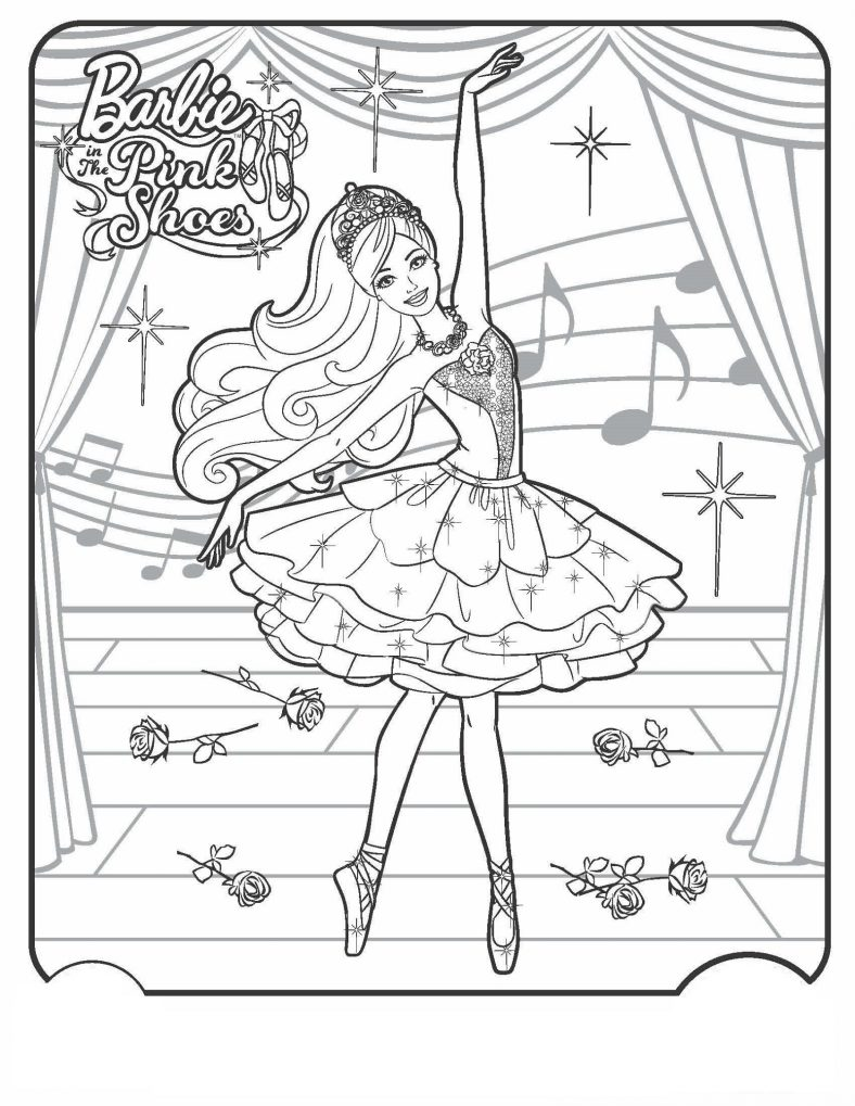 Beautiful Ballerina Coloring Pages | 101 Coloring