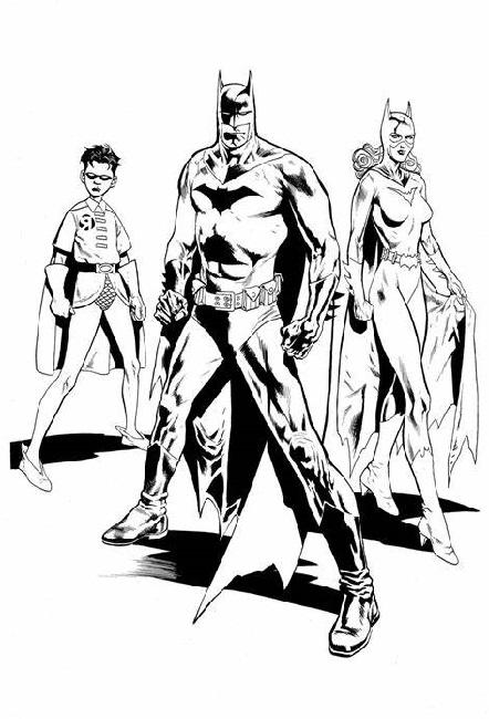 Batman Coloring Book Superhero
