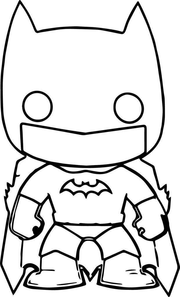 Batman Pictures To Color Chibi