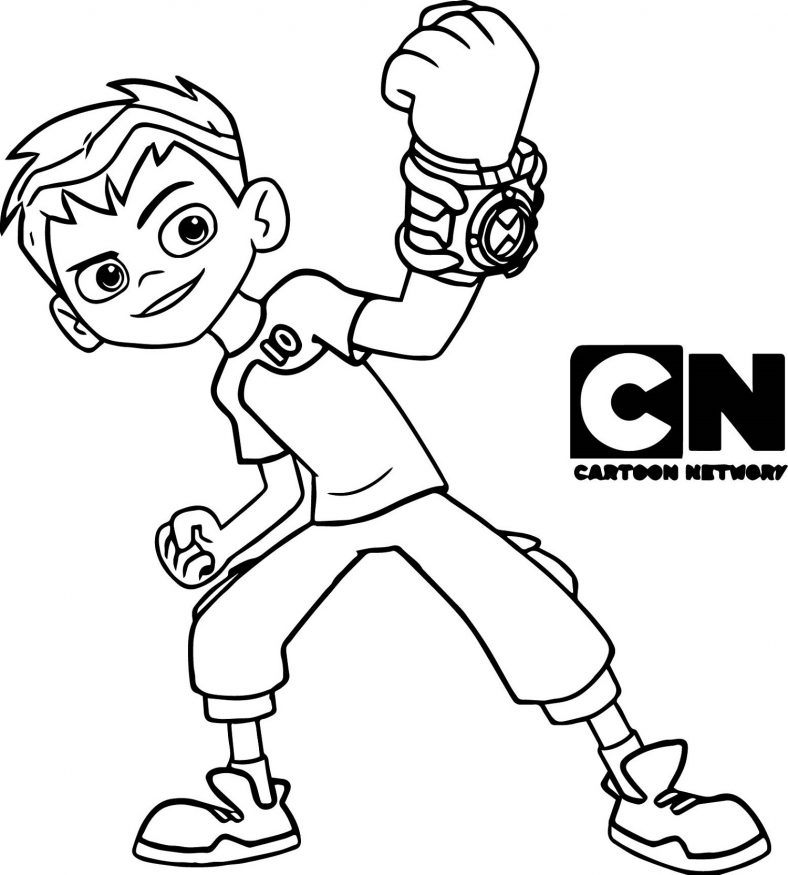 Ben 10 Coloring Pages Ben Ten