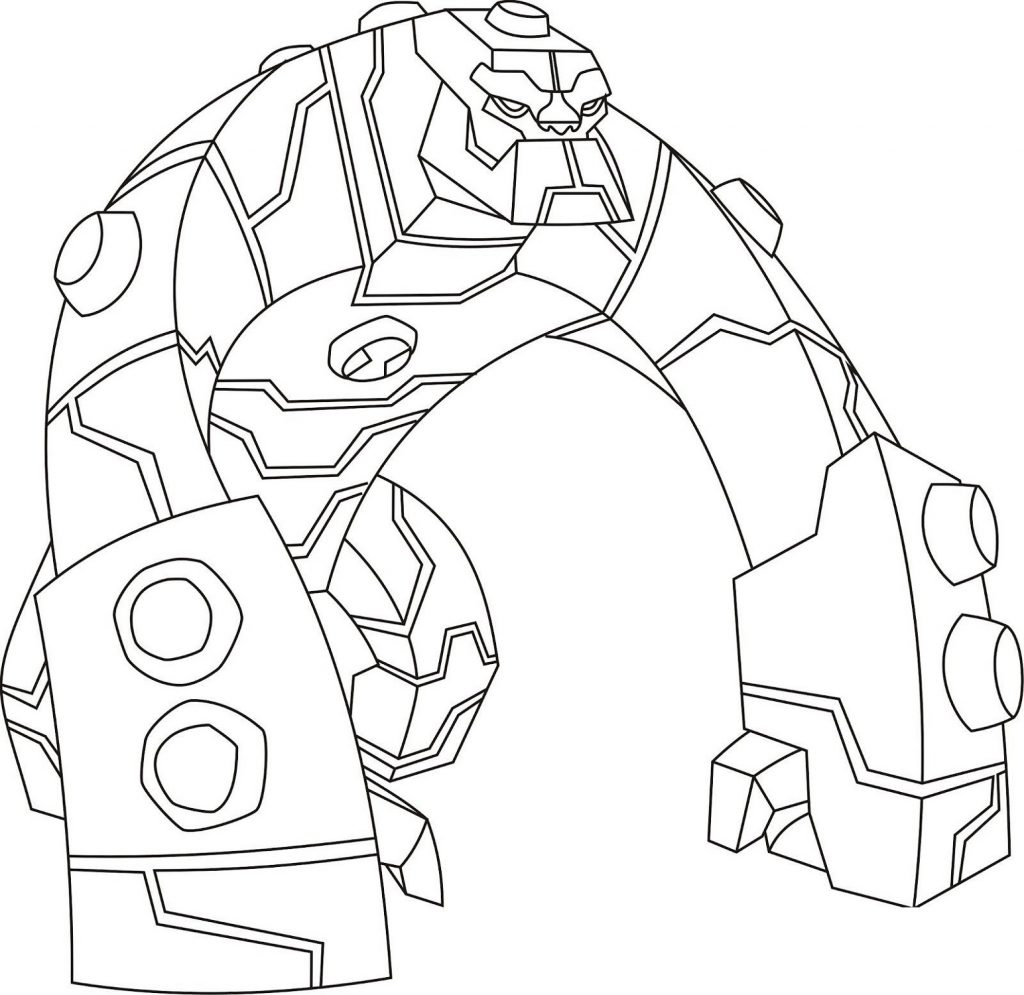 Ben 10 Coloring Pages Bloxx