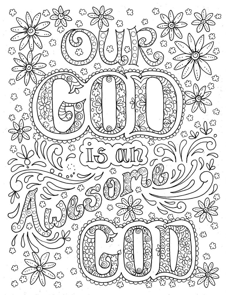 Bible Coloring Pages God