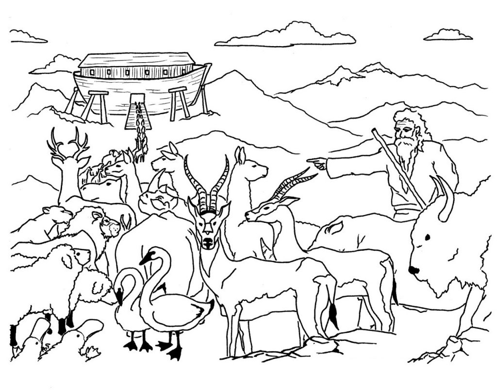 Bible Coloring Pages Stories