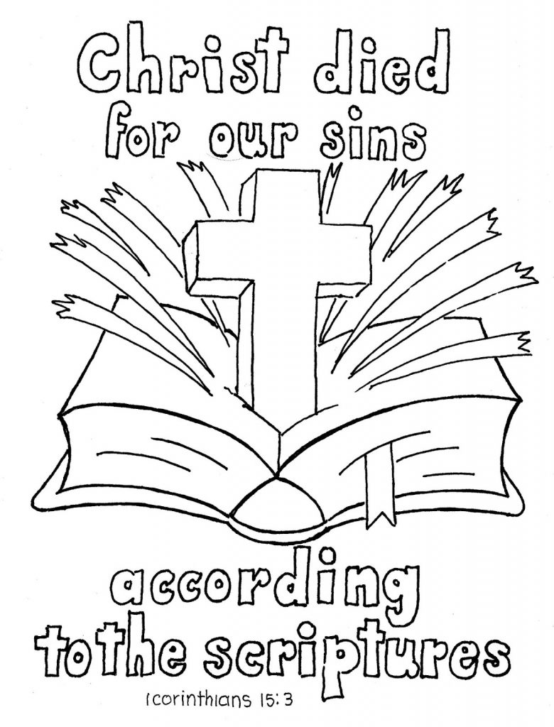 Bible Coloring Sheets For Kids