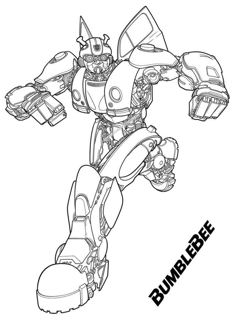 Bumblebee Coloring Pages To Print