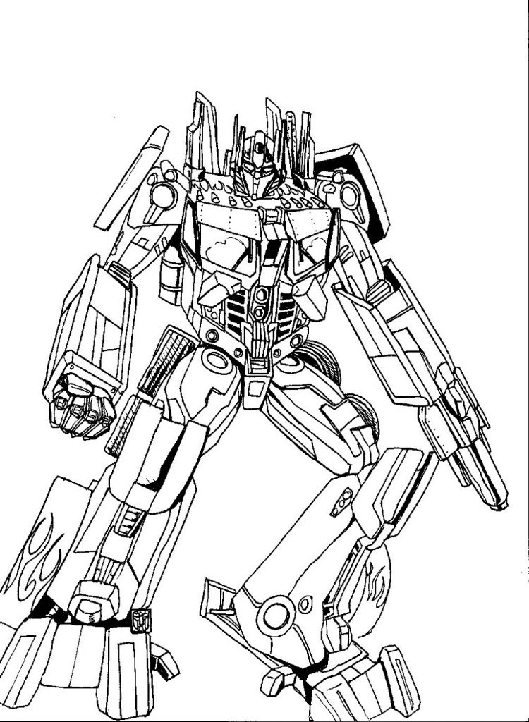 Bumblebee Coloring Pages Transformer