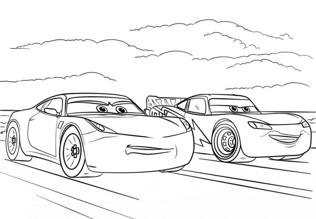 Cars 3 Coloring Pages Movie