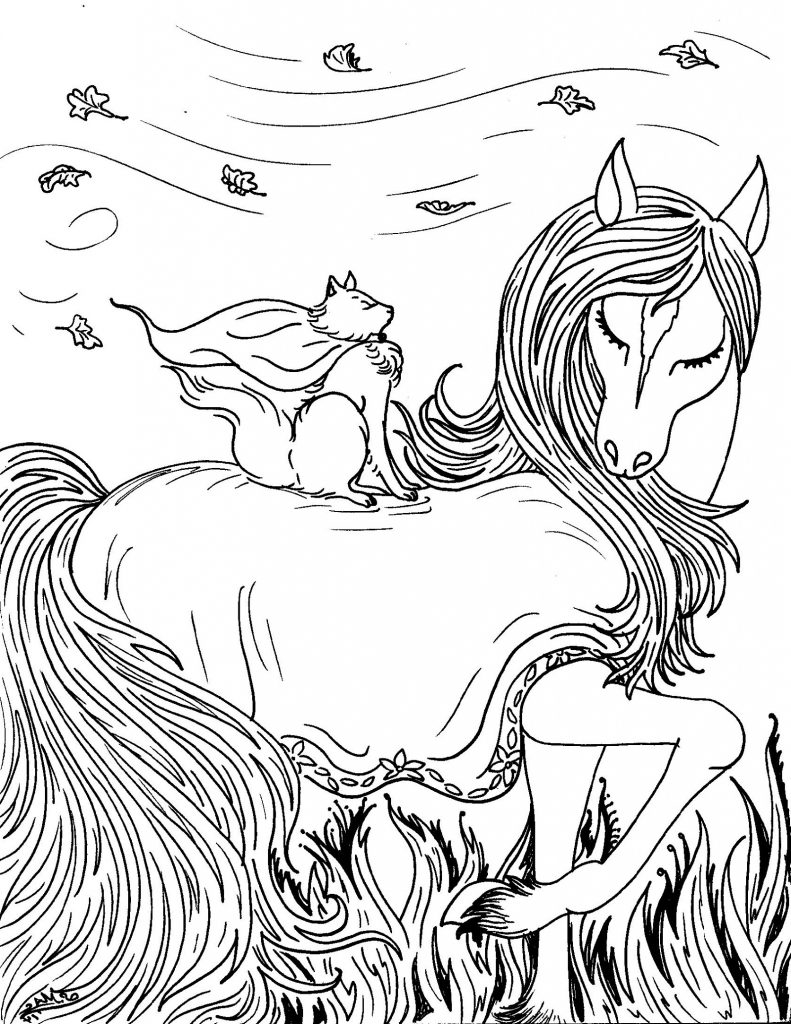 Cat Coloring Pages For Adults Fancy
