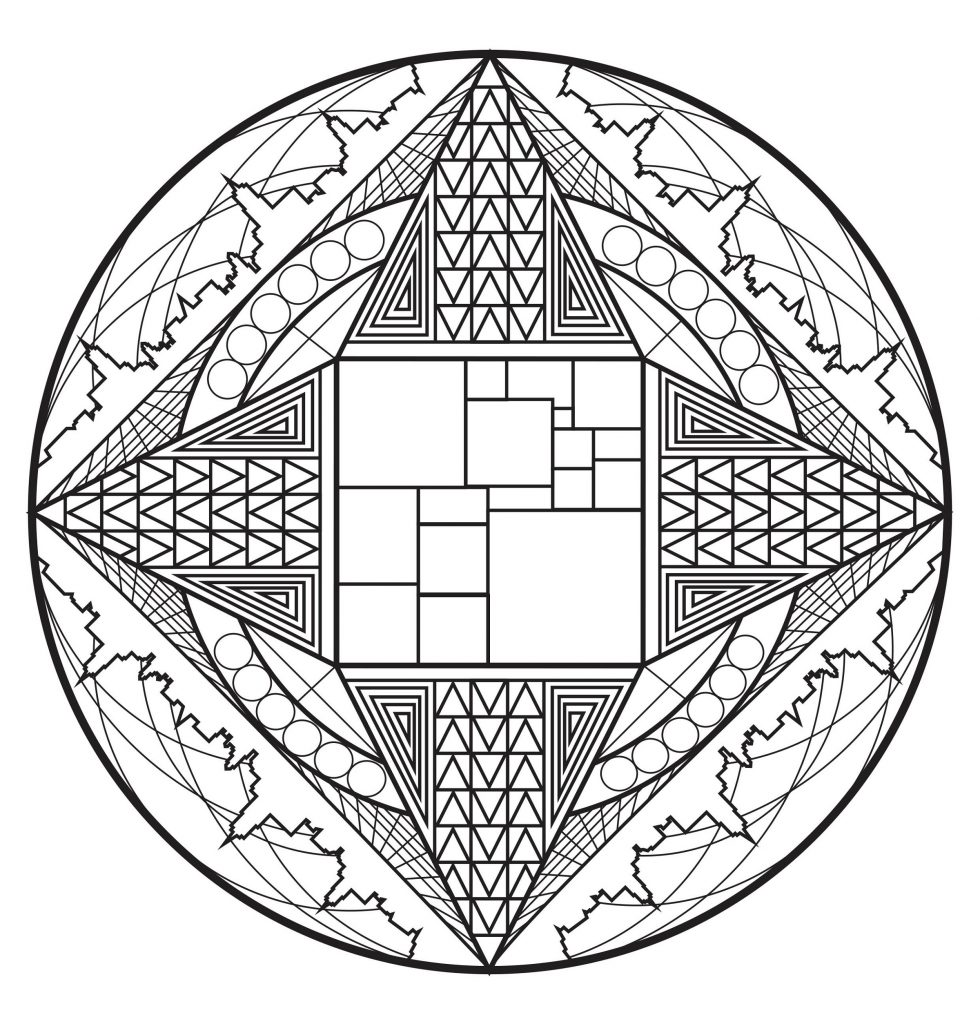 Celtic Mandala Coloring