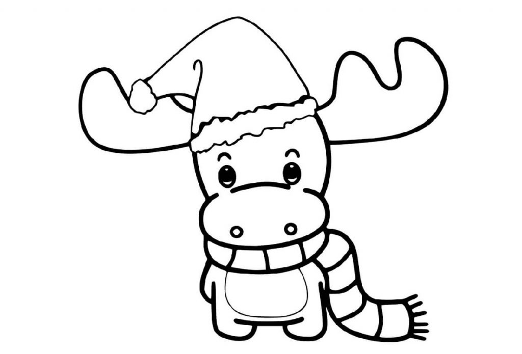 Christmas Coloring Books Cartoon