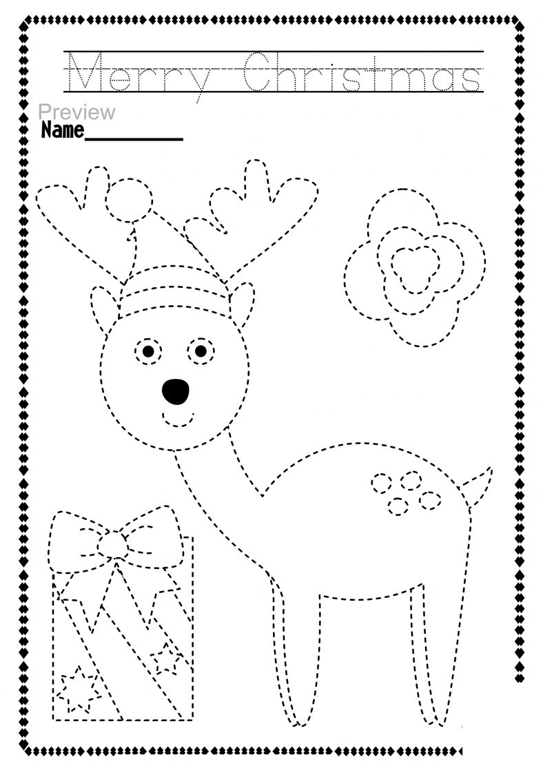 Christmas Coloring Books Preschool