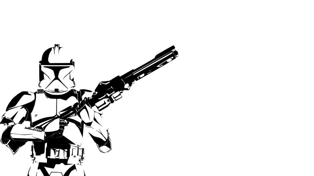 Clone Trooper Coloring Pages Clipart