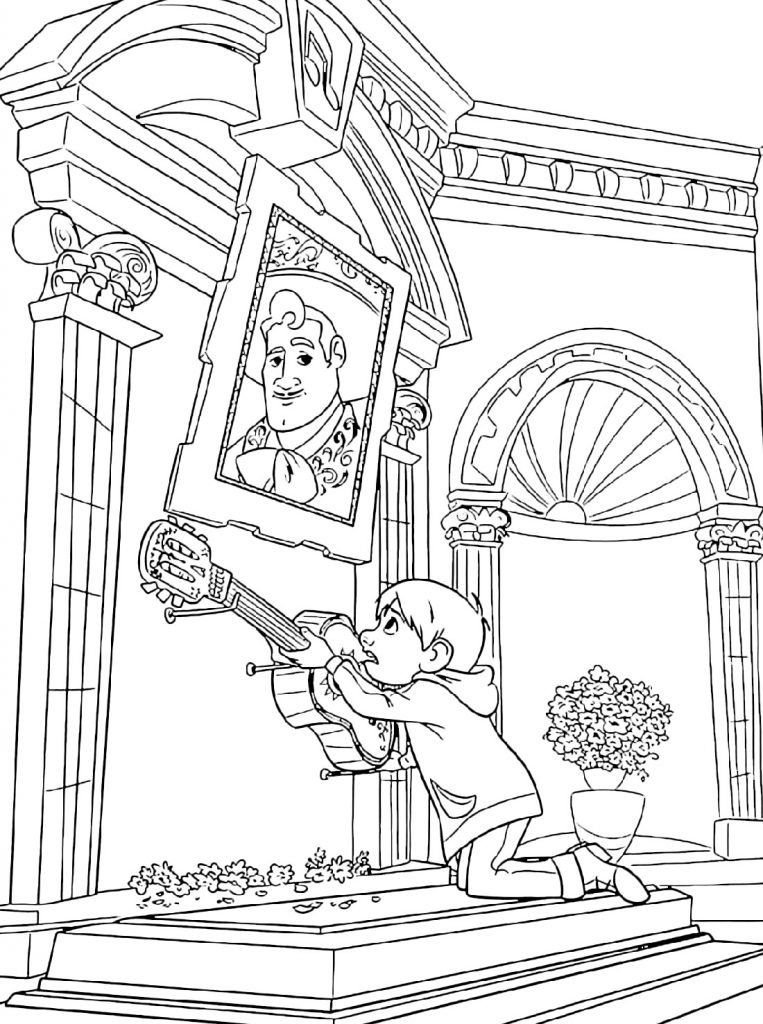 Coco Coloring Pages Movie