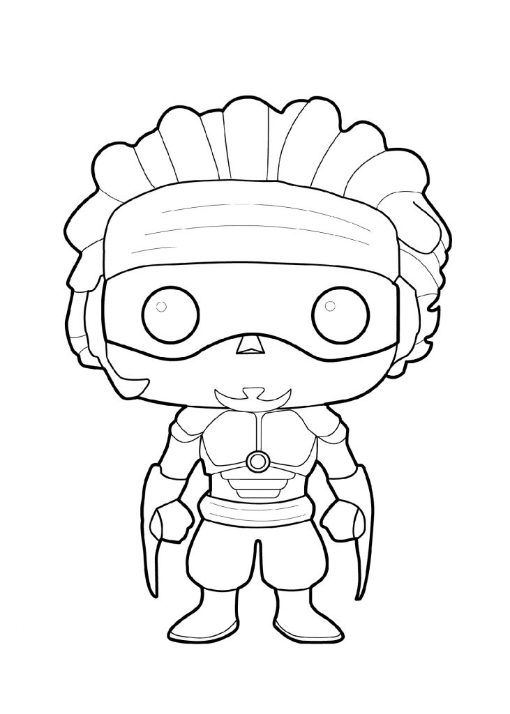 Coloring Pages For Boys Superhero