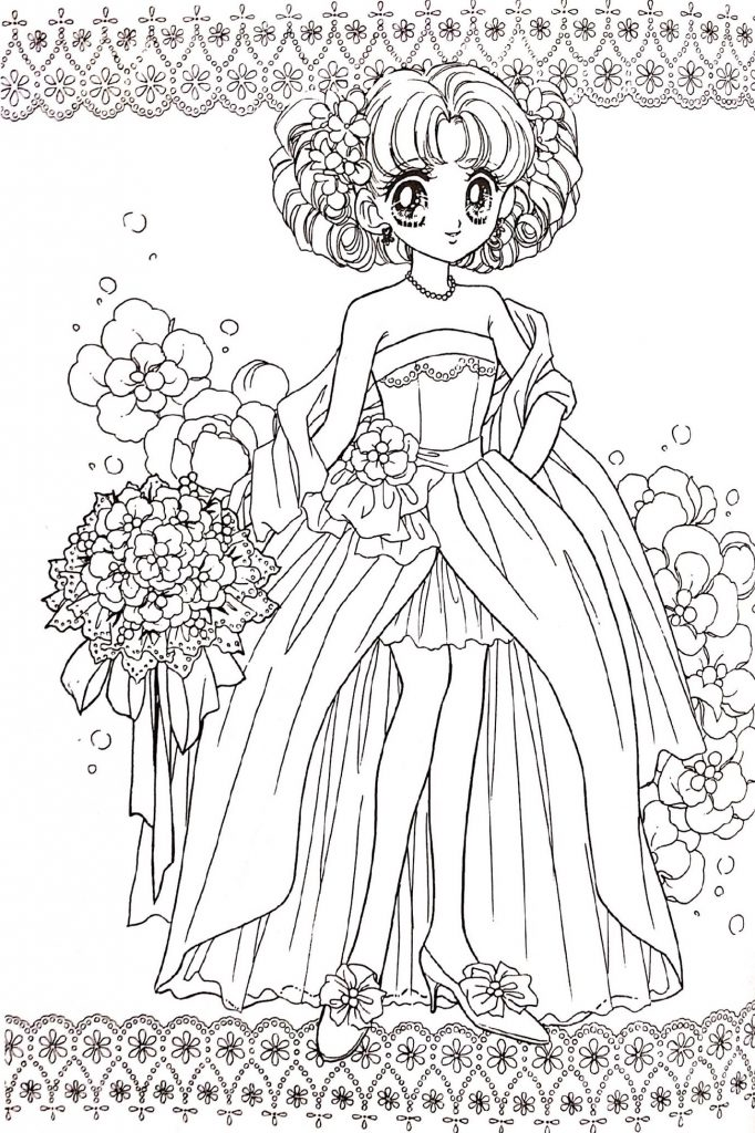 Coloring Pages For Girls Princess