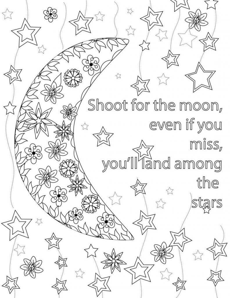 Coloring Pages For Teens Quotes