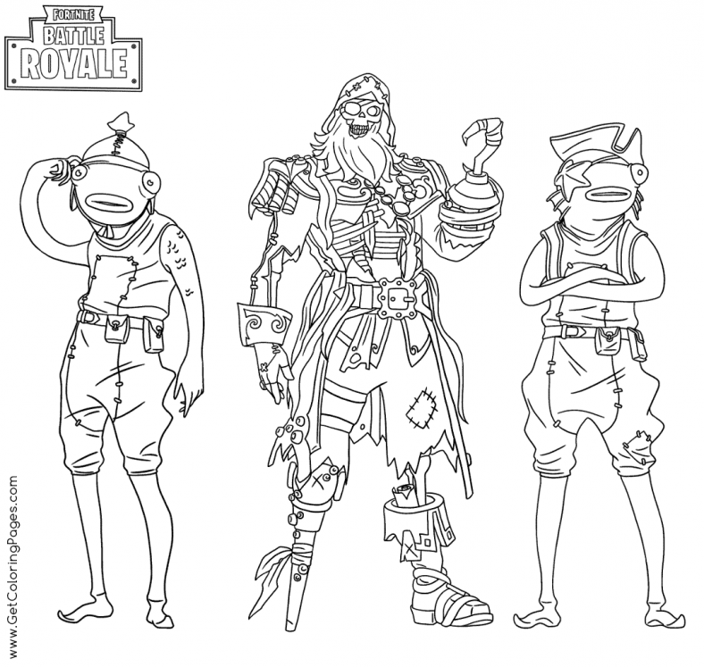 Coloring Pages Fortnite Free