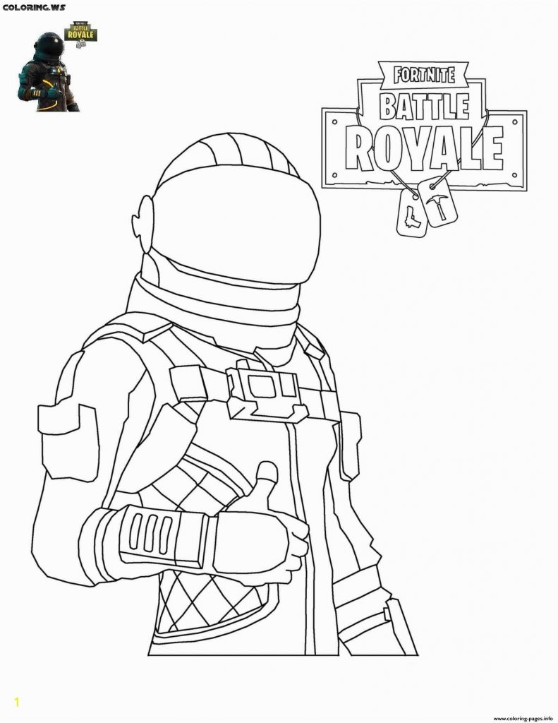 Coloring Pages Fortnite Marshmello