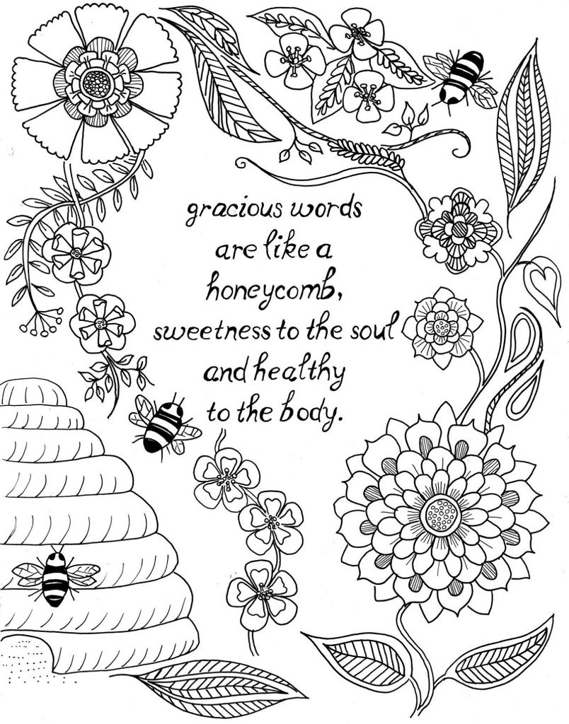 Coloring Sheets For Teens Quotes