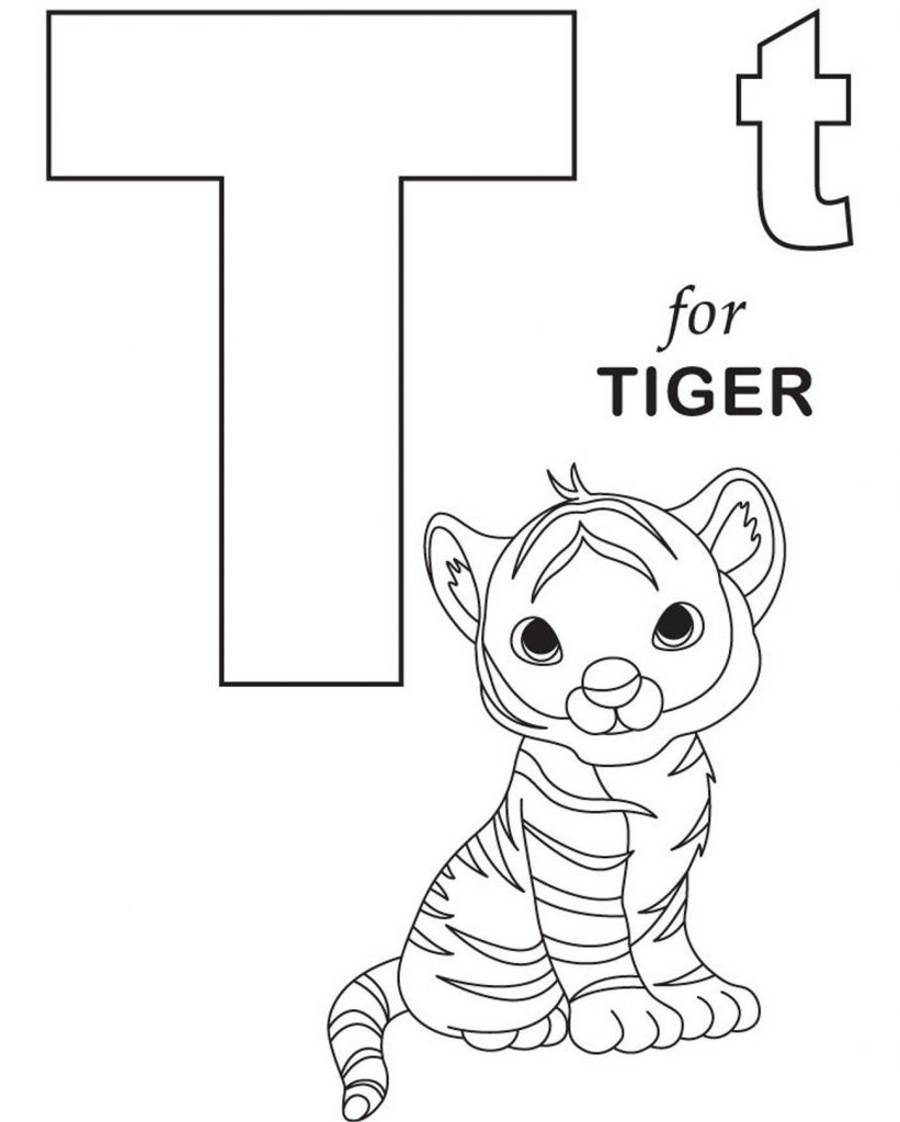 Coloring Worksheets For Preschool Alphabet
