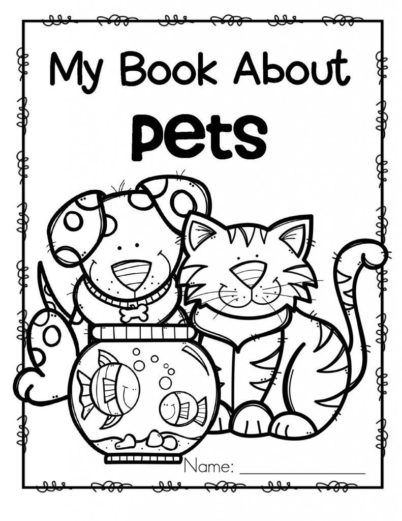 Coloring Worksheets For Preschool Animal
