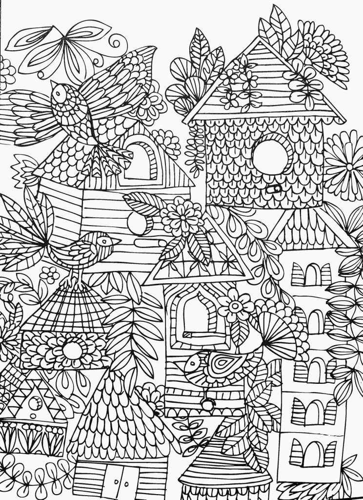 Cool Coloring Pages for Adults | 101 Coloring