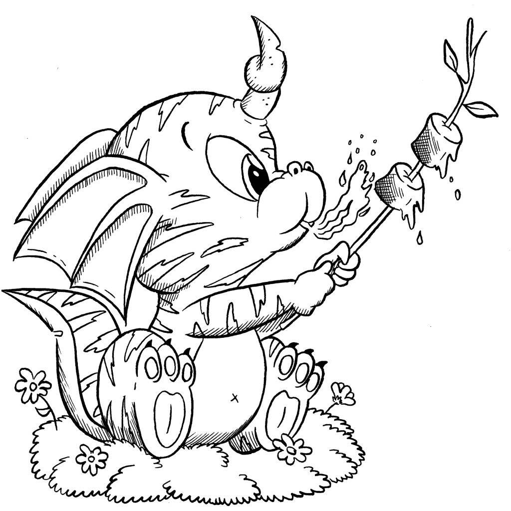 Cute Baby Animal Coloring Pages Fairy