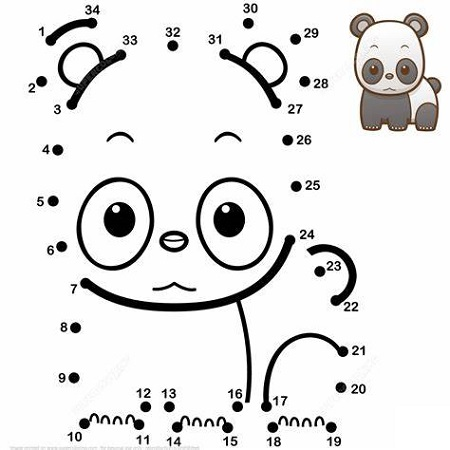 Cute Baby Animal Coloring Pages Panda