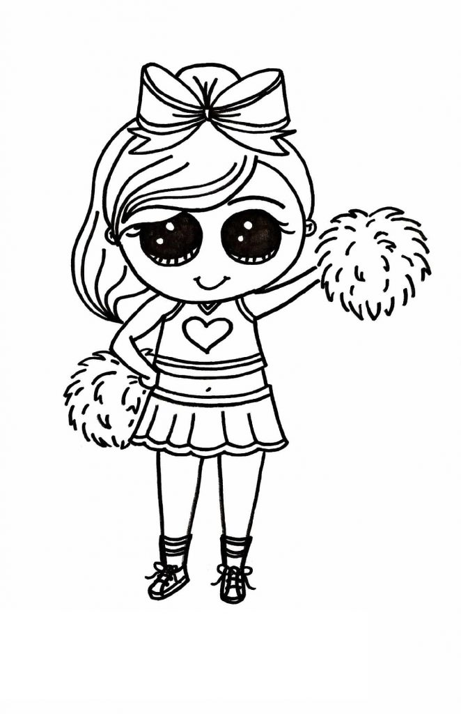 Cute Coloring Pages For Girls Kawaii