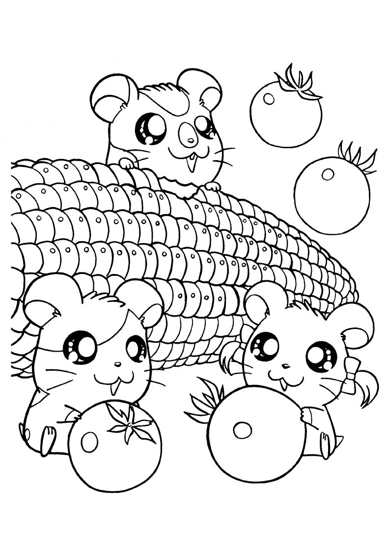 Adorable and Cute Coloring Pages for Kids | 101 Coloring