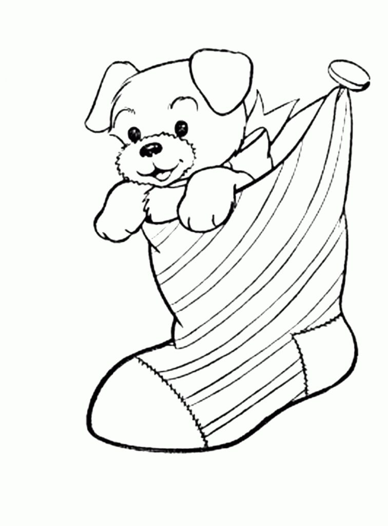 Cute Dog Coloring Pages Puppy