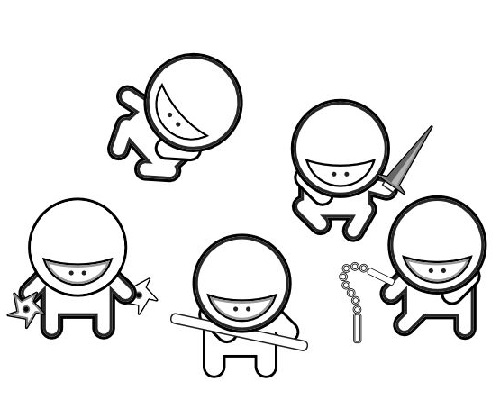 - Hideous Ninja Coloring Pages 101 Coloring