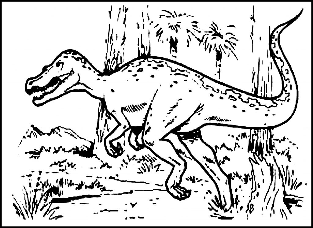 Dinosaur Coloring Book Free