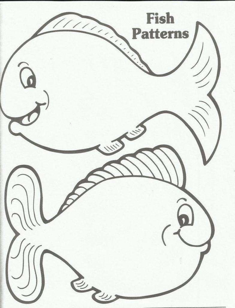 Dr Seuss Coloring Pages Fish