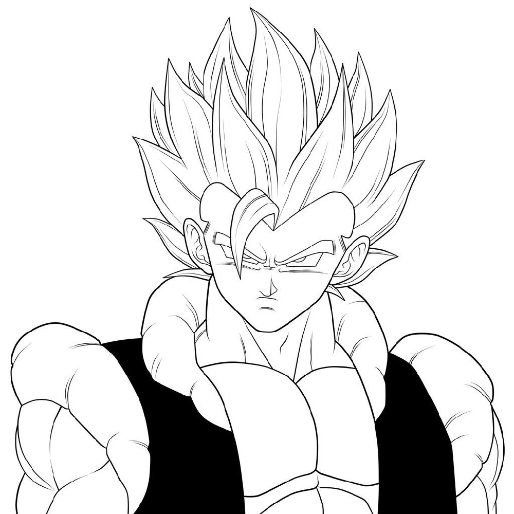 Dragon Ball Coloring Pages Gou