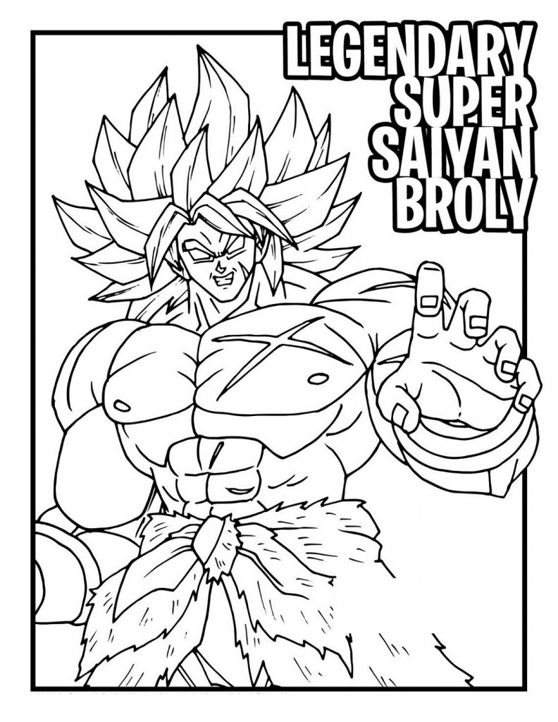 Dragon Ball Coloring Pages Movie