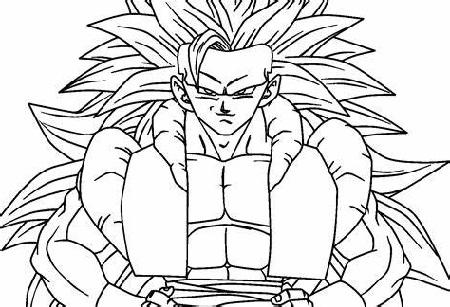 Dragon Ball Coloring Pages Super Saiyan
