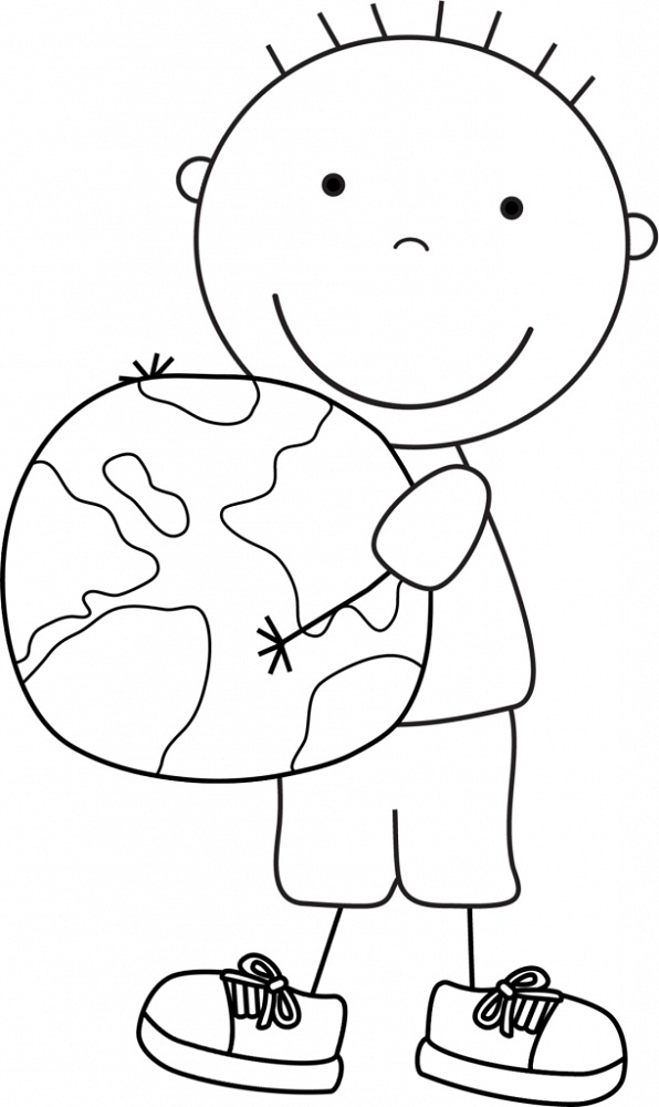 Earth Day Coloring Pages Cute