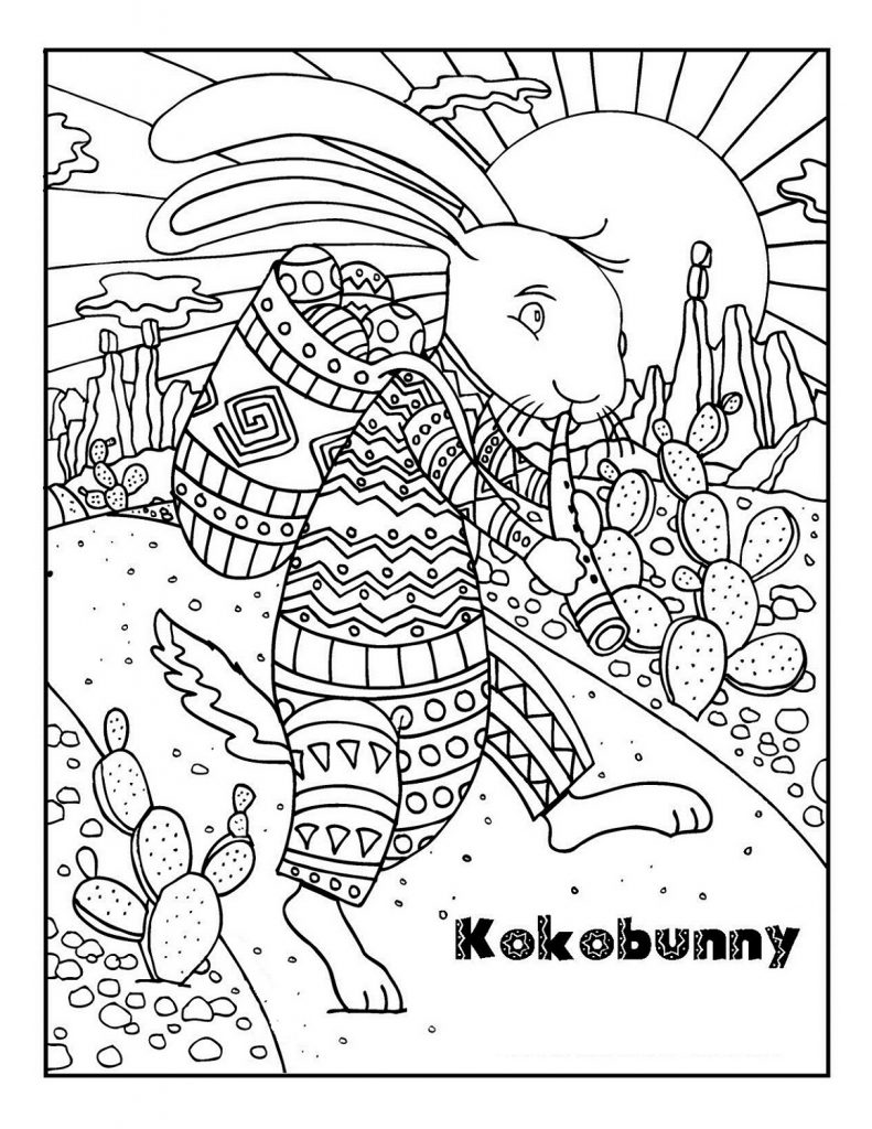 Easter Coloring Pages For Adults Pdf